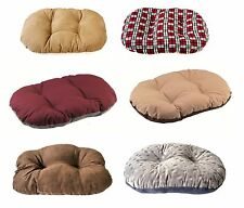 Cheap Small Medium Extra Large XL Plastic Oval Washable Dog Pet Beds Cushions