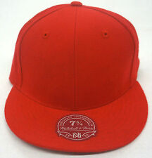 Mitchell and Ness Blank Logo Fitted Cap M&N Hat NEW!