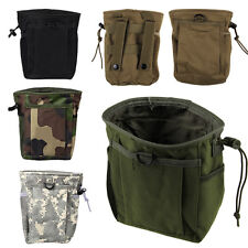 Military Tactical Case Carrying Waist Bag with Drawstring for Outdoor Hiking CS