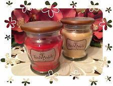 TIMBERWICK WOOD WICK SCENTED JAR CANDLES SOY WAX HANNAS CANDLE COMPANY 9.25 OZ