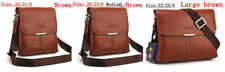 Authentic POLO Men's Cow Leather Shoulder Bag Messenger Bag  Free Shipping