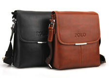 POLO Men's PU Leather Shoulder Bag Messenger Bag Tablet PC bag Pad bag