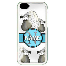 Cover for Iphone 5C Sheep personalised name funny cartoon cute silly Phone case