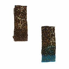 Ladies animal print scarf collection 90687 3 colours available