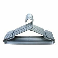 Plastic Coat Hangers, adults, Clothes, Trouser, Garment, Hanger - Silver