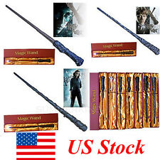 New Harry Potter Hermione Sirius Moody Magic Magical Wand Led Light Up Xmas Gift