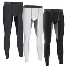 Mens Compression Wear Tights Legging Base Layer Skin Tight Long Pants Running
