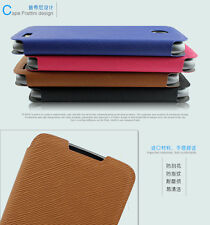1 Nice Filp Stand PU Leather Case Pouch Cover For Lenovo A516 Smart Phone