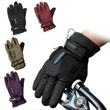 Men Women's Electric Battery Powered Charging Heating Mittens Hands Warmer Glove