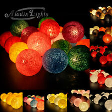 Aladin 20 Cotton Balls String Lights Fairy,Home/Patio Decoration, Weddings CA