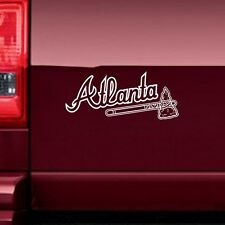 Atlanta Braves 3231 Sports Baseball Vinyl Sticker Decal