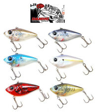"DAMIKI TREMOR 65 SILENT LIPLESS CRANKBAIT 2.5"" various colors"