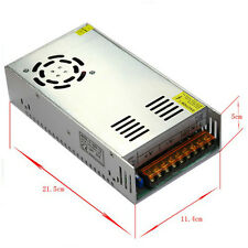 DC 12V 5A 10A 15A 20A 30A Regulated Transformer Power Supply For LED Strip USA