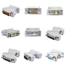 DVI DVI-I DVI-D DVI-A to VGA Adapter Converter for Graphic Card lots wholesale