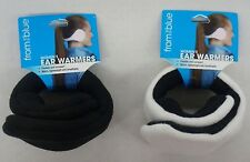 From The Blue By 180s Lady Black Adjustable Fleece Ear Warmers Ear Muff Women