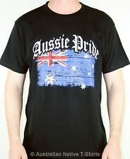 Aussie Pride Adults T-Shirt, Great Australian Flag Pride Design! Unisex - NEW