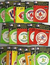 1982 Fleer Team stickers logos  your choice of teams available