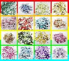 Flatback Round 800pcs 4mm Faceted Rhinestone Scrapbooking DIY Craft Decoration