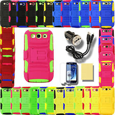 Case for Samsung Galaxy S 3 III S3 SGH-i747 T999 Stand Pouch Belt Clip Cover