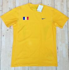 Nike Mens Romania Davis Cup/Olympic Tennis Shirt Top New Size L