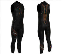 NEW 2014 Men's Blue Seventy Reaction Sleeveless Triathlon Wetsuit - Save 20% Now