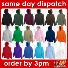 fotl hooded sweatshirt, plain blank adult pullover hoodie men women  MW