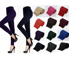 Lady Womens Winter Warm Skinny Slim Leggings Stretch Pants Thick Footless Tights