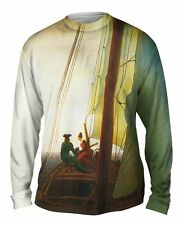 """Yizzam - Friedrich - """"On the Sailing Boat""""-  New Mens Long Sleeve Shirt"""