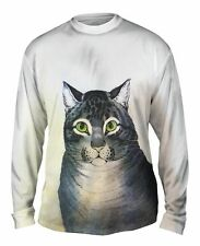 "Yizzam - Currier - ""The Favorite Cat""-  New Mens Long Sleeve Shirt"