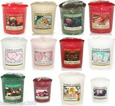 Yankee Candle Sampler / Votive Christmas Festive Selection - up to 30% Discount