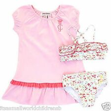baby girl JUICY COUTURE BIKINI 2pc Swimsuit & COVER -UP 3/6M 12/18M 18/24M BNWT