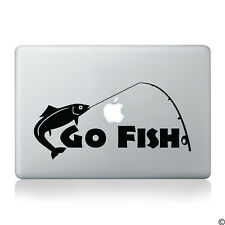 Go Fish Fishing Vinyl Decal - fits car truck laptop boat window sticker K002