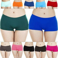 New Womens Ladies Boxer Boy Shorts Hot Pants Knickers Underwear Size S M L XL 8