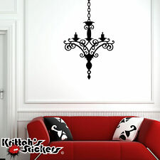 Chandelier Vinyl Wall Decal living family room bedroom home decor sticker CH02