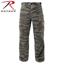 Tiger Stripe Vintage Military Rip-Stop Vietnam Era BDU Fatigue Pants 4487