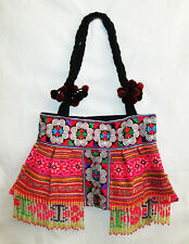 New Handmade Thai Hmong Tribal Embroidered Casual Vintage Hippy Shoulder Bag