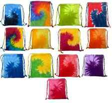 "Tie Dye Sport Bags, Backpack, 100% Cotton Multiple Colors 18 "" x 14"""