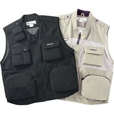 Pro MESH T/C SHOOTING VEST 9 Pockets Padded Jacket Camera Photographer Press Men
