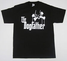 The Dogfather T-shirt Dog Owner Funny Adult Humor Godfather Parody Tee S-2Xl New