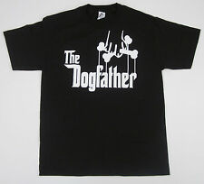 The DOGFATHER T-shirt Dog Owner Funny Adult Humor Godfather Parody Tee S-3XL New