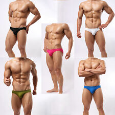 SPORT SPEEDO-STYLE SWIM TRUNK BRIEFS / UNDERWEAR SILKY SMOOTH SHEER FABRIC