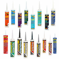 Everbuild Silicone Sealants Select Your Type and See Differences in Listing