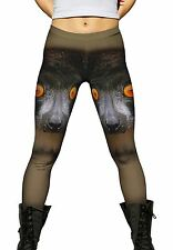 Yizzam- Look Into My Eyes Lemur -New Ladies Womens Leggings XS S M L XL 2XL 3XL
