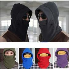 100% New 2014 Fashion Thermal Fleece 6in1 Balaclava Hood Police Swat Ski Mask KJ