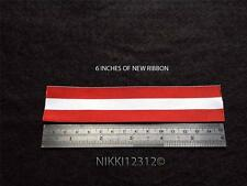 FULL SIZE 1866 - 1870 CANADA GENERAL SERVICE MEDAL RIBBON CHOICE LISTING
