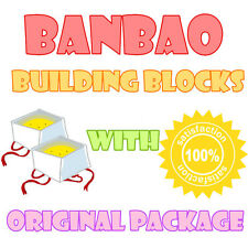 Banbao Building Blocks With Original Package & Tracking Number Best Gift Lot