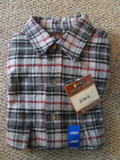 NWT Men's Moose Creek Long Sleeve Heavy Flannel Shirt, multiple sizes