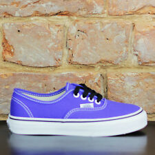 Vans Kids Authentic Trainers Pumps Brand new box in UK Size 10,11,12,13,1,2,3