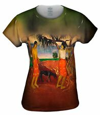 "Yizzam - Gauguin - ""Raro Te Oviri""- New Ladies Top Women Tshirt Tee"