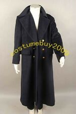 Doctor Who Captain Jack Harkness Cashmere Wool Trench Coat Costume US size S-XL